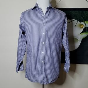 Men's Michael Kors Striped Dress Button Up Top